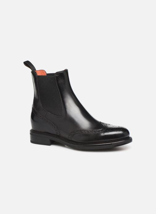 Boots en enkellaarsjes Santoni KW2 58153 Zwart detail