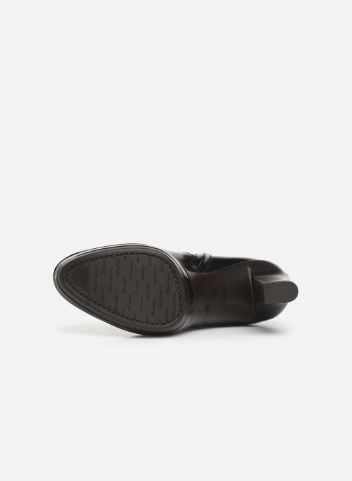 Bottines et boots Santoni Blair 56651 Noir vue haut