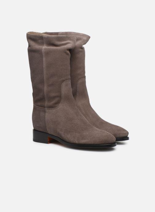 Bottines et boots Santoni Hermione 57520 Beige vue 3/4