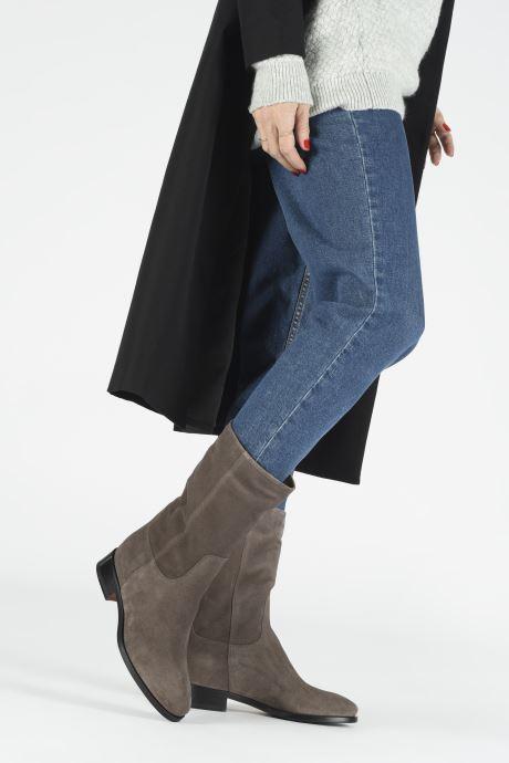 Bottines et boots Santoni Hermione 57520 Beige vue bas / vue portée sac