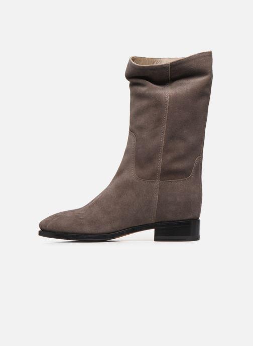 Boots en enkellaarsjes Santoni Hermione 57520 Beige voorkant