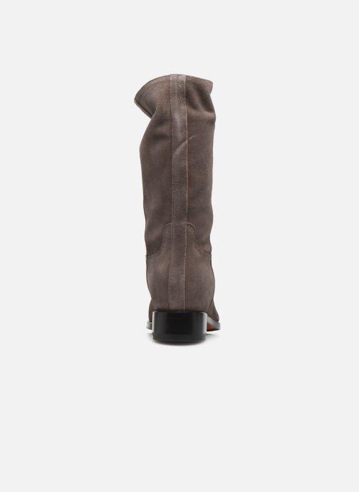 Boots en enkellaarsjes Santoni Hermione 57520 Beige rechts
