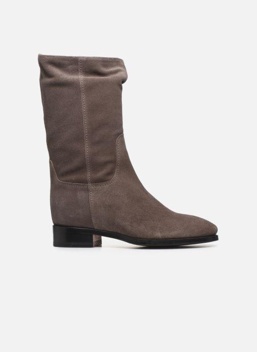 Boots en enkellaarsjes Santoni Hermione 57520 Beige achterkant