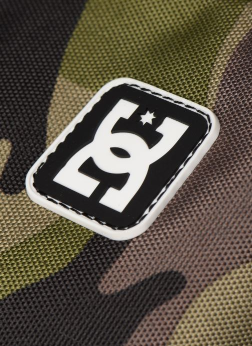 Rucksacks DC Shoes BACKSIDER PRINT Green view from the left