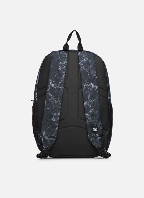 Mochilas DC Shoes BACKSIDER PRINT Negro vista de frente