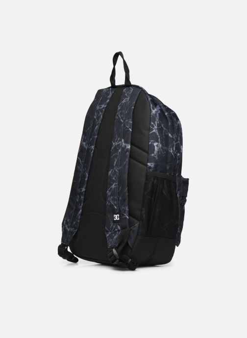 Rucksacks DC Shoes BACKSIDER PRINT Black view from the right