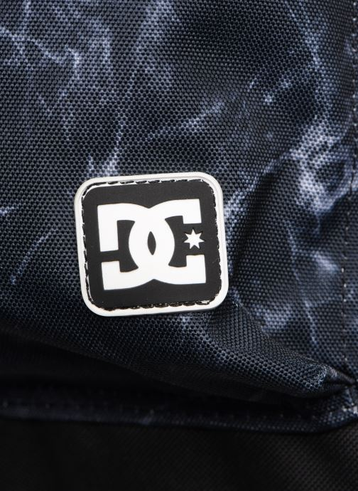 Mochilas DC Shoes BACKSIDER PRINT Negro vista lateral izquierda