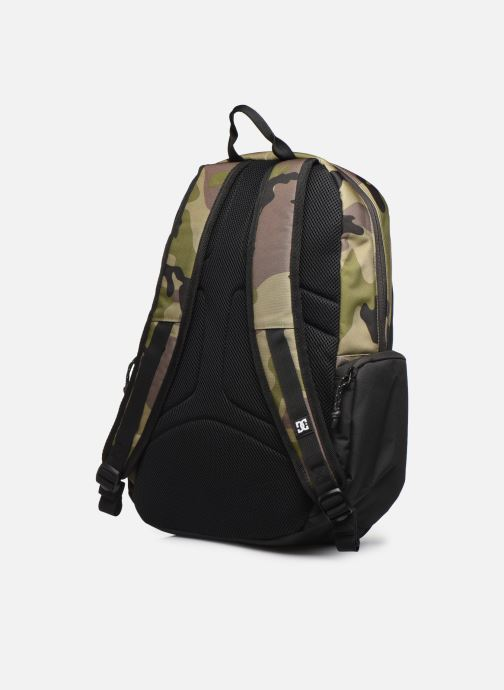 Rucksacks DC Shoes CHALKERS Green view from the right