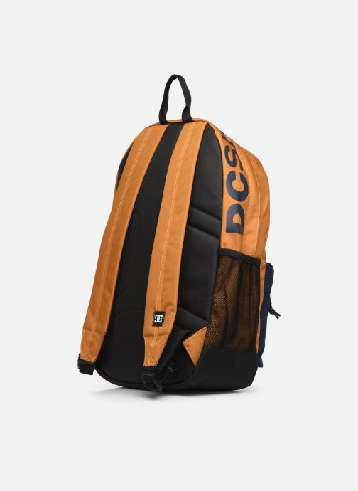 Rucksacks DC Shoes BACKSIDER CB Yellow view from the right