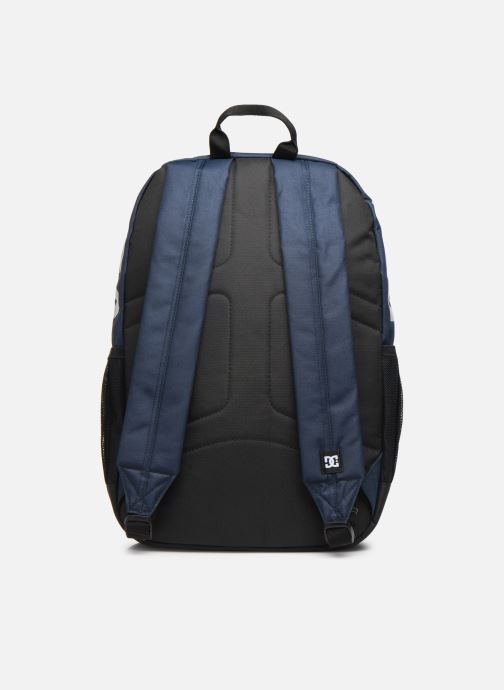 Mochilas DC Shoes BACKSIDER Azul vista de frente