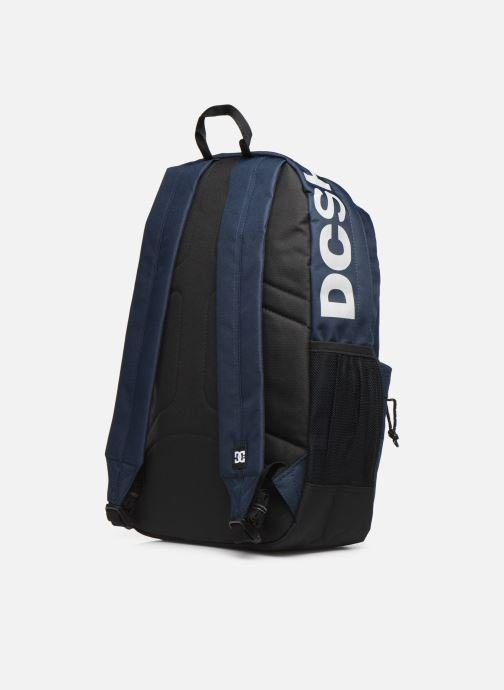 Rucksacks DC Shoes BACKSIDER Blue view from the right