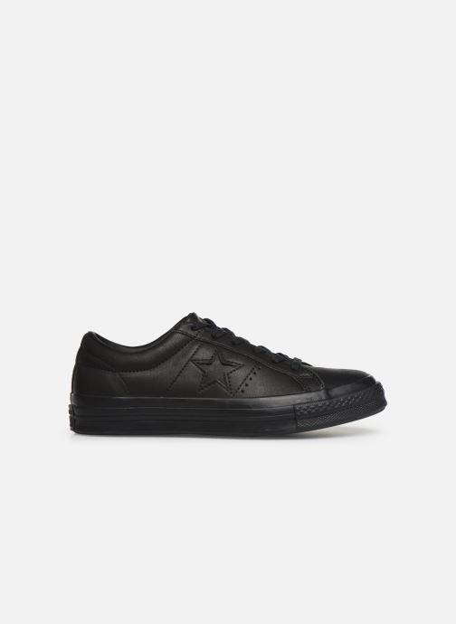 Sneakers Converse One Star Leather Ox W Zwart achterkant
