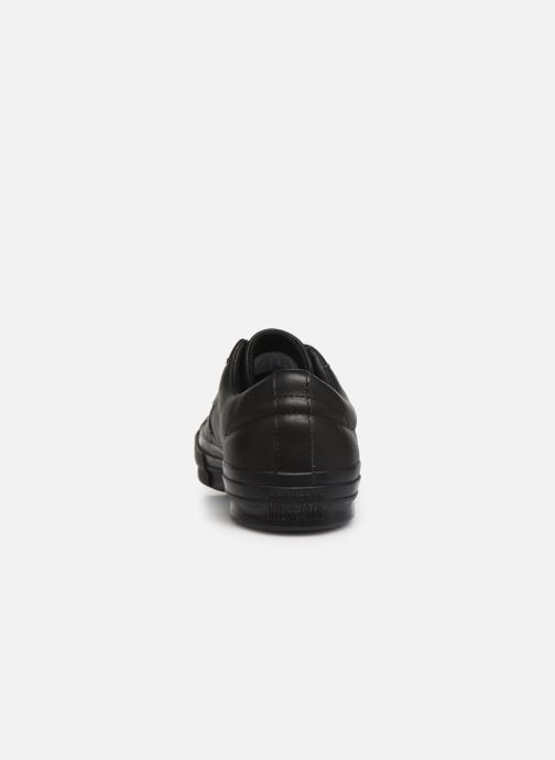 Trainers Converse One Star Leather Ox M Black view from the right