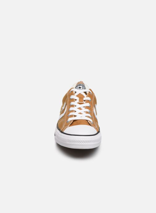 Baskets Converse Star Player Canvas Ox Jaune vue portées chaussures