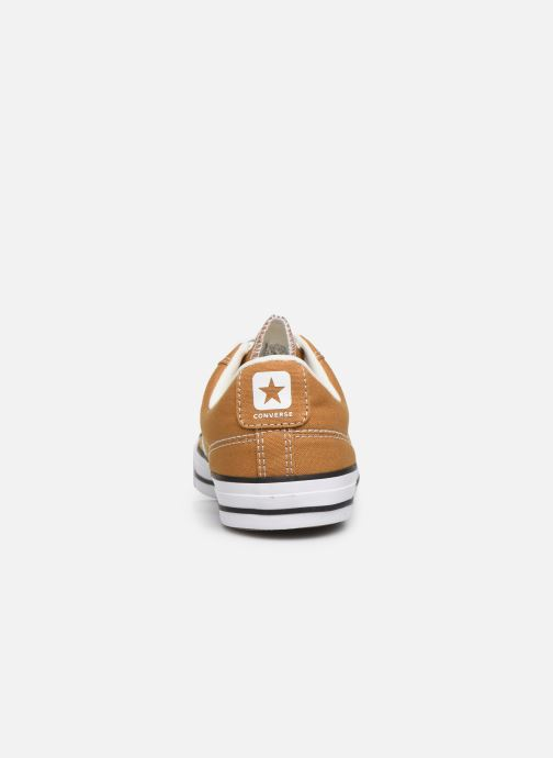 Baskets Converse Star Player Canvas Ox Jaune vue droite