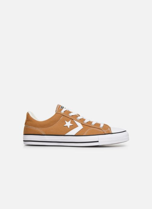 Baskets Converse Star Player Canvas Ox Jaune vue derrière