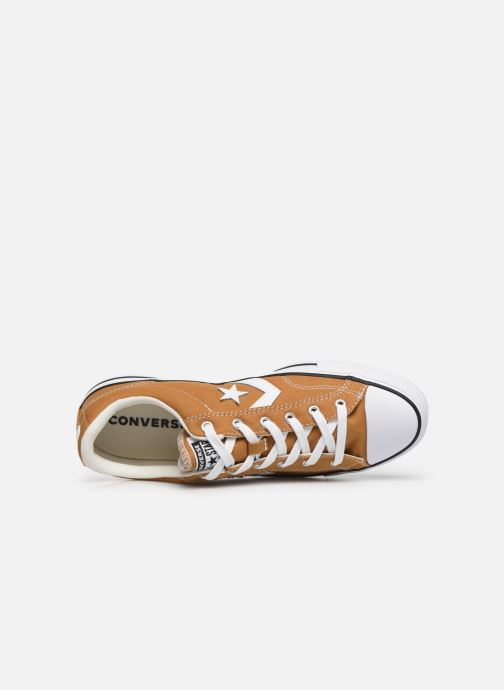 Baskets Converse Star Player Canvas Ox Jaune vue gauche
