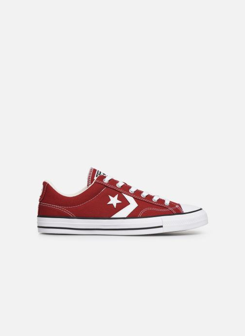 Trainers Converse Star Player Canvas Ox Red back view