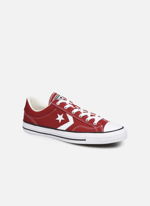 Trainers Converse Star Player Canvas Ox Red detailed view/ Pair view