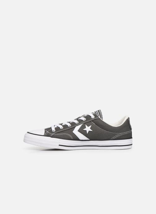 Sneaker Converse Star Player Canvas Ox grau ansicht von vorne