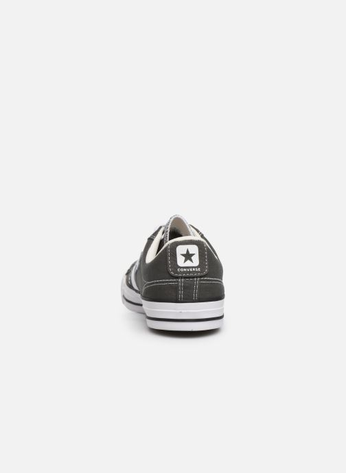 Baskets Converse Star Player Canvas Ox Gris vue droite