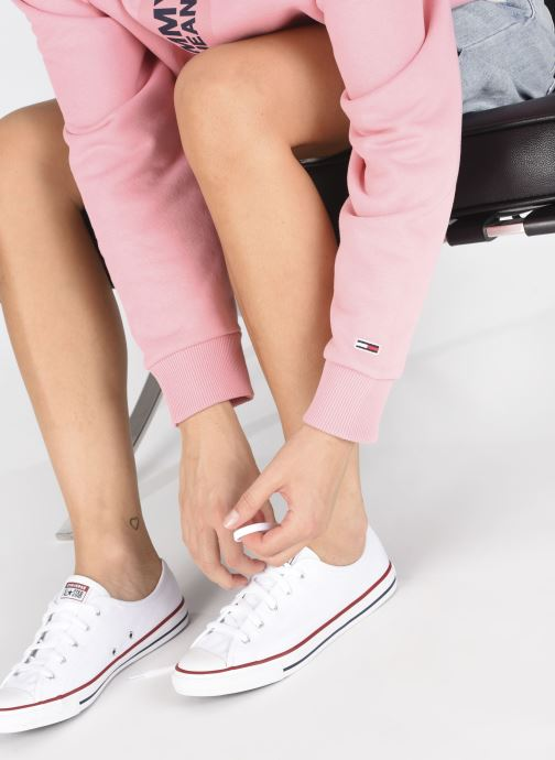 Sneakers Converse Chuck Taylor All Star Dainty Canvas Ox Wit onder