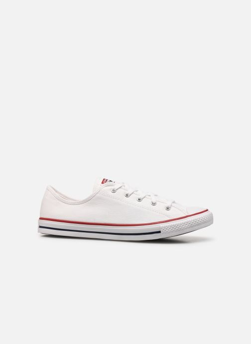Sneakers Converse Chuck Taylor All Star Dainty Canvas Ox Hvid se bagfra