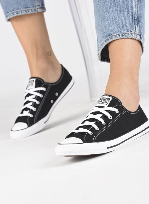 Sneakers Converse Chuck Taylor All Star Dainty Canvas Ox Zwart onder