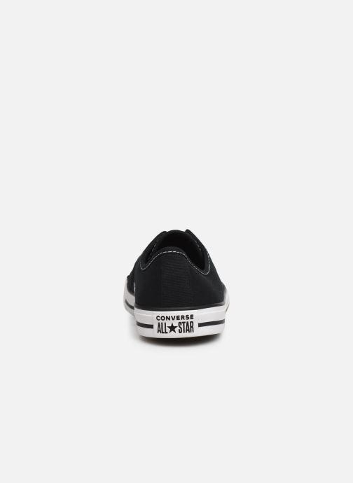 Sneakers Converse Chuck Taylor All Star Dainty Canvas Ox Zwart rechts