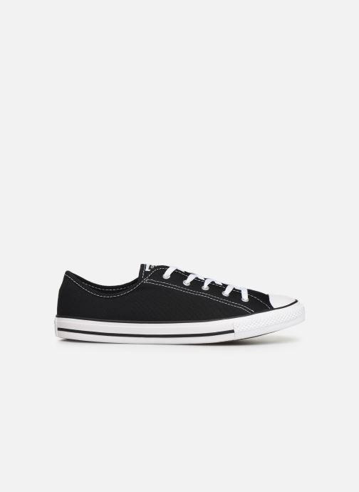 Sneakers Converse Chuck Taylor All Star Dainty Canvas Ox Zwart achterkant