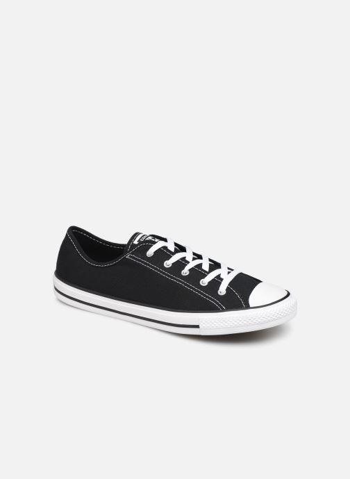 Sneakers Converse Chuck Taylor All Star Dainty Canvas Ox Zwart detail