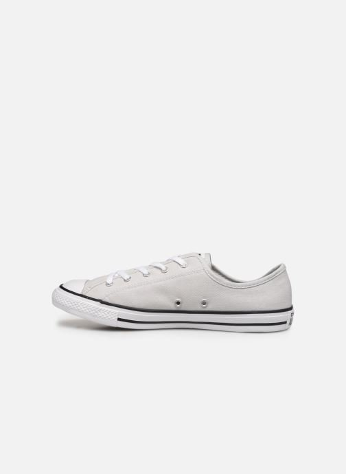 Baskets Converse Chuck Taylor All Star Dainty Canvas Ox Gris vue face