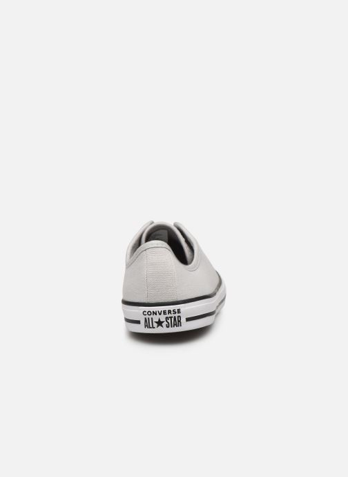 Baskets Converse Chuck Taylor All Star Dainty Canvas Ox Gris vue droite