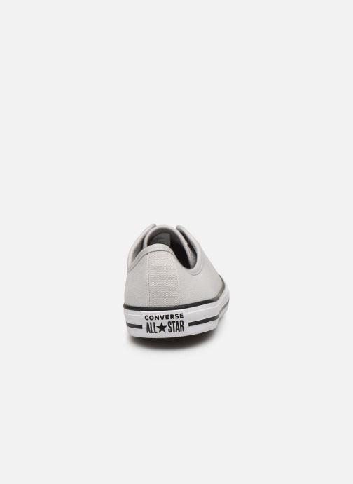 Sneaker Converse Chuck Taylor All Star Dainty Canvas Ox grau ansicht von rechts