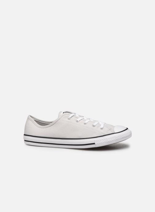 Sneaker Converse Chuck Taylor All Star Dainty Canvas Ox grau ansicht von hinten