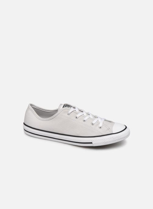 Sneaker Converse Chuck Taylor All Star Dainty Canvas Ox grau detaillierte ansicht/modell