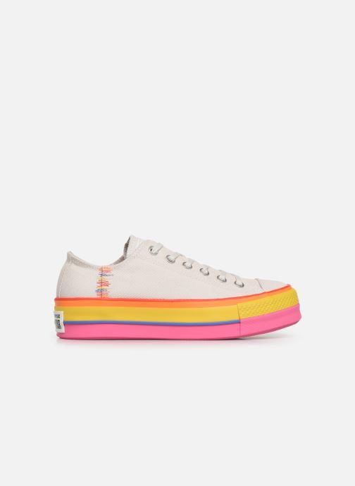 Converse Chuck Taylor All Star Lift Rainbow Ox (Blanc