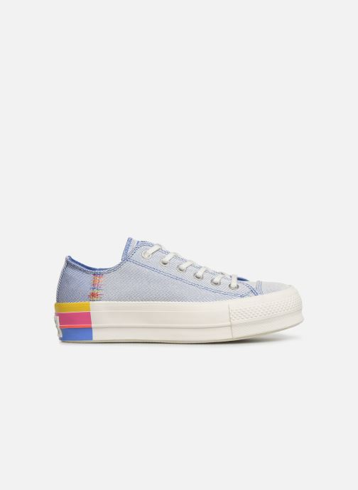 Baskets Converse Chuck Taylor All Star Lift Rainbow Ox Bleu vue derrière