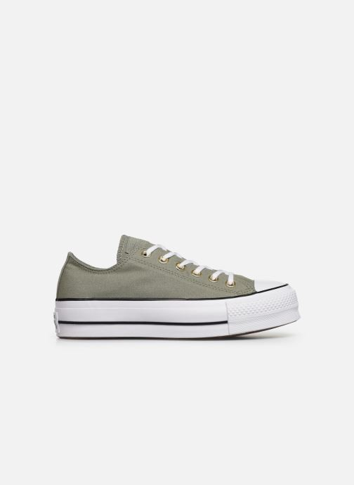 Baskets Converse Chuck Taylor All Star Lift Canvas Ox Vert vue derrière
