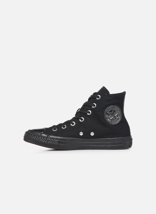 Sneakers Converse Chuck Taylor All Star Stargazer Hi Zwart voorkant