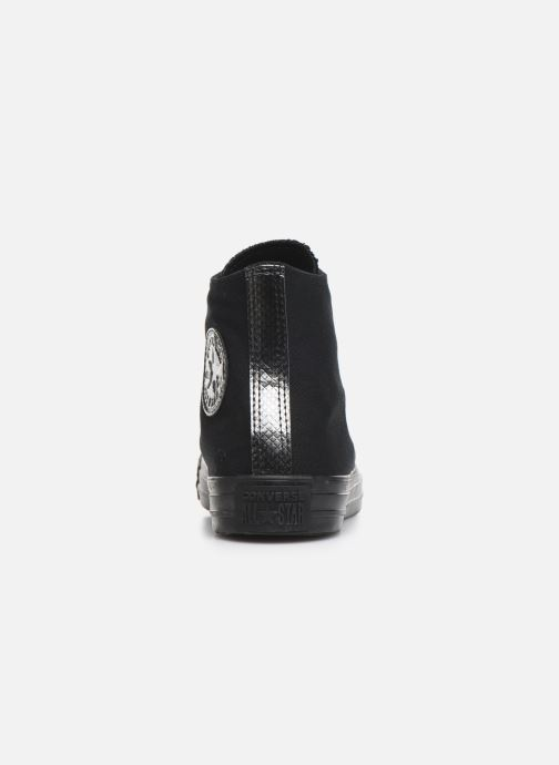 Trainers Converse Chuck Taylor All Star Stargazer Hi Black view from the right