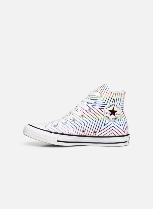 Baskets Converse Chuck Taylor All Star All Of The Stars Hi W Blanc vue face