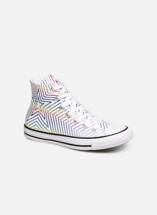 Baskets Converse Chuck Taylor All Star All Of The Stars Hi W Blanc vue détail/paire