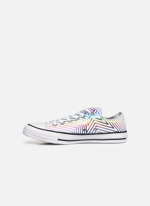 Trainers Converse Chuck Taylor All Star All Of The Stars Ox W White front view