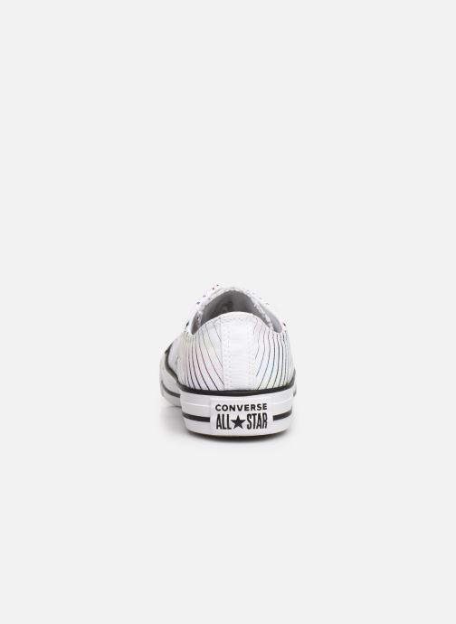 Baskets Converse Chuck Taylor All Star All Of The Stars Ox W Blanc vue droite