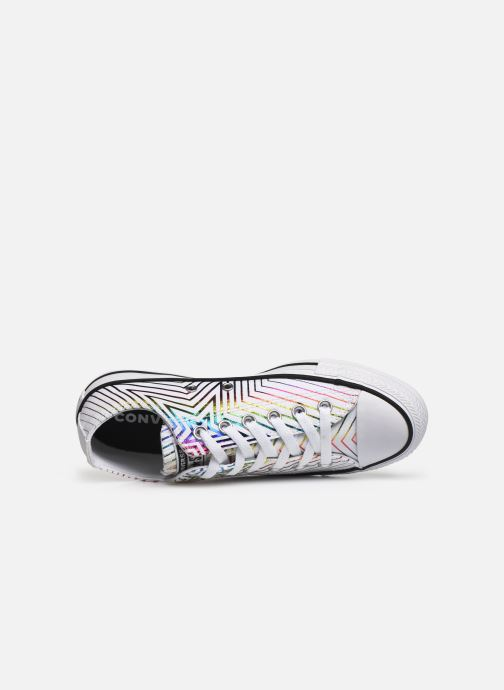 Trainers Converse Chuck Taylor All Star All Of The Stars Ox W White view from the left