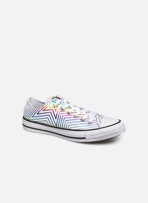 Baskets Converse Chuck Taylor All Star All Of The Stars Ox W Blanc vue détail/paire