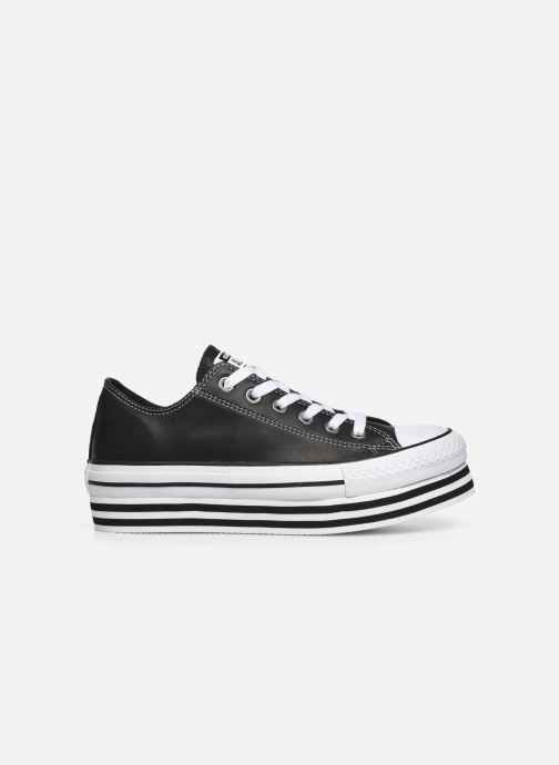 Sneakers Converse Chuck Taylor All Star Layer Bottom Ox Nero immagine posteriore