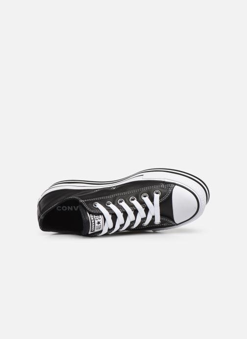 Sneakers Converse Chuck Taylor All Star Layer Bottom Ox Nero immagine sinistra