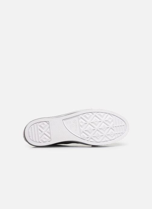 Sneakers Converse Chuck Taylor All Star Layer Bottom Ox Nero immagine dall'alto